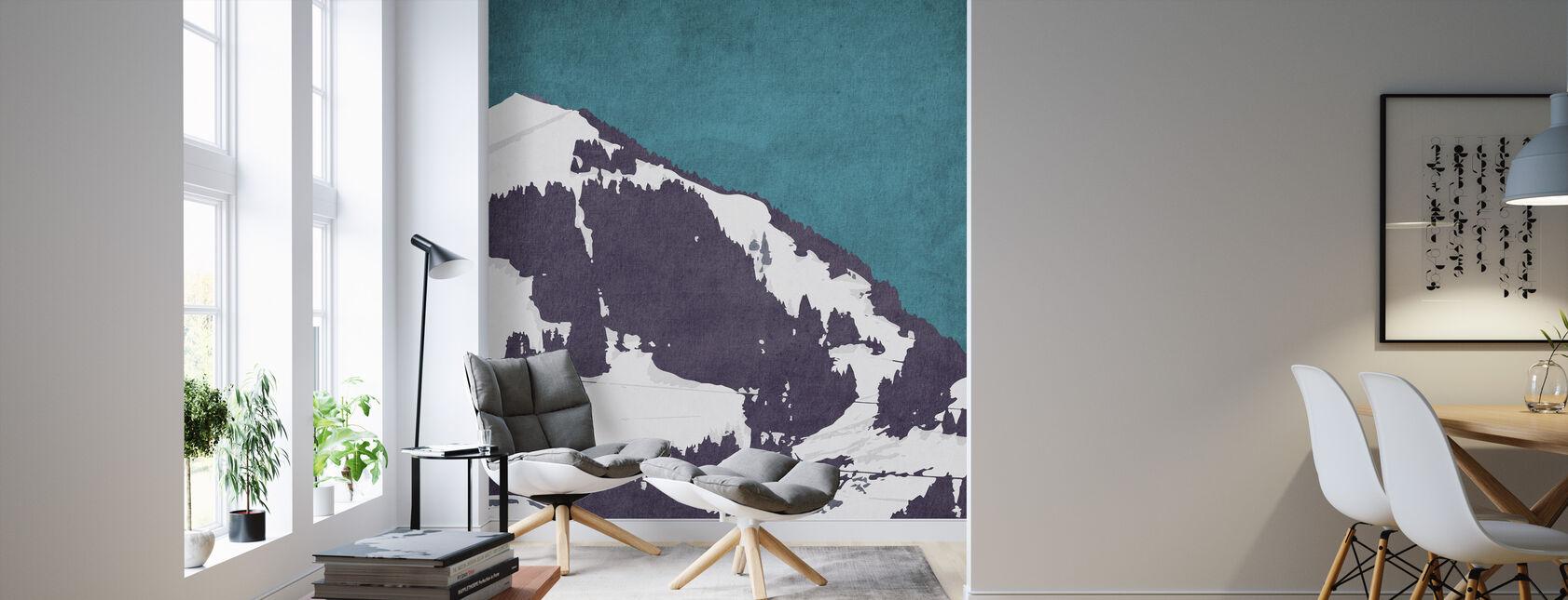The Alps - Wallpaper - Living Room
