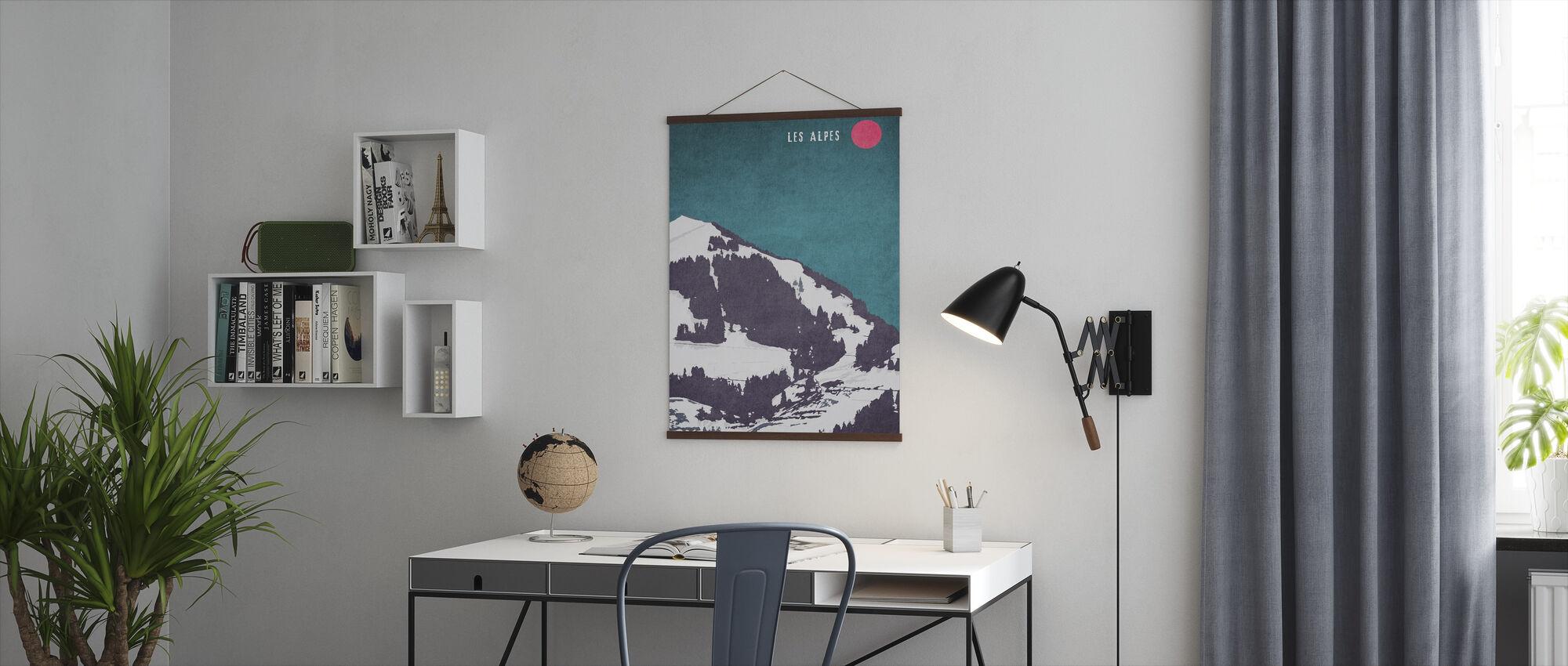 Alpene - Plakat - Kontor