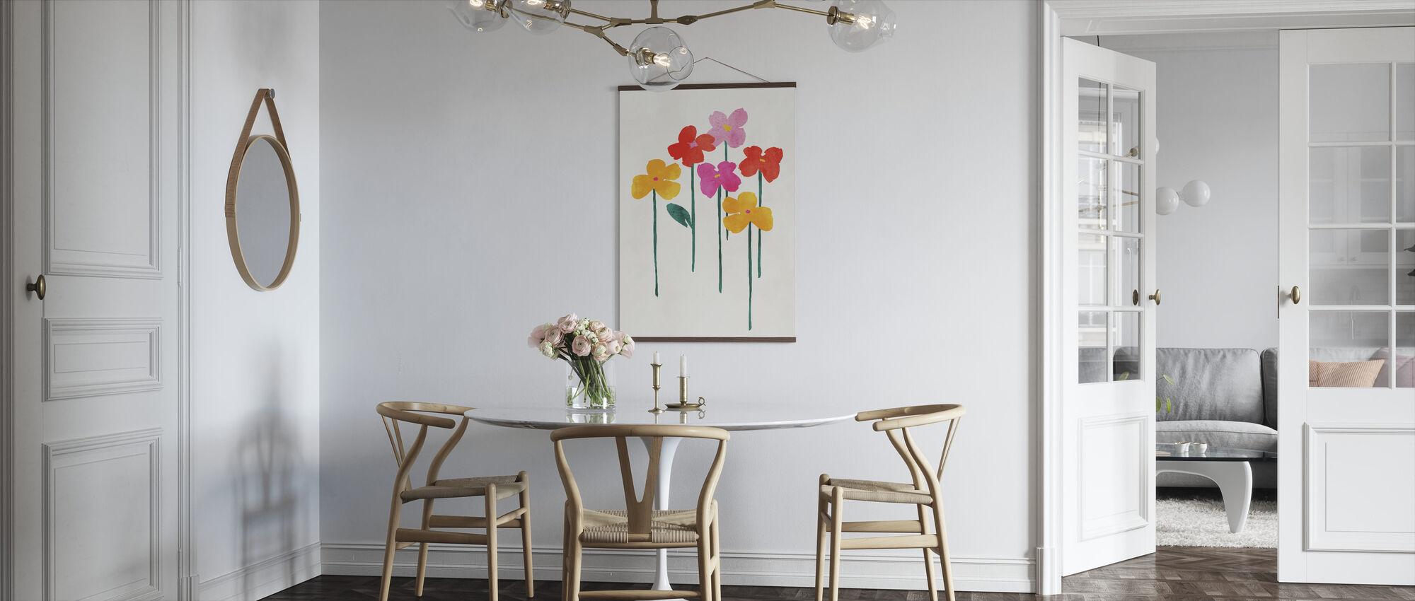Little Happy Flowers - Poster - Kitchen
