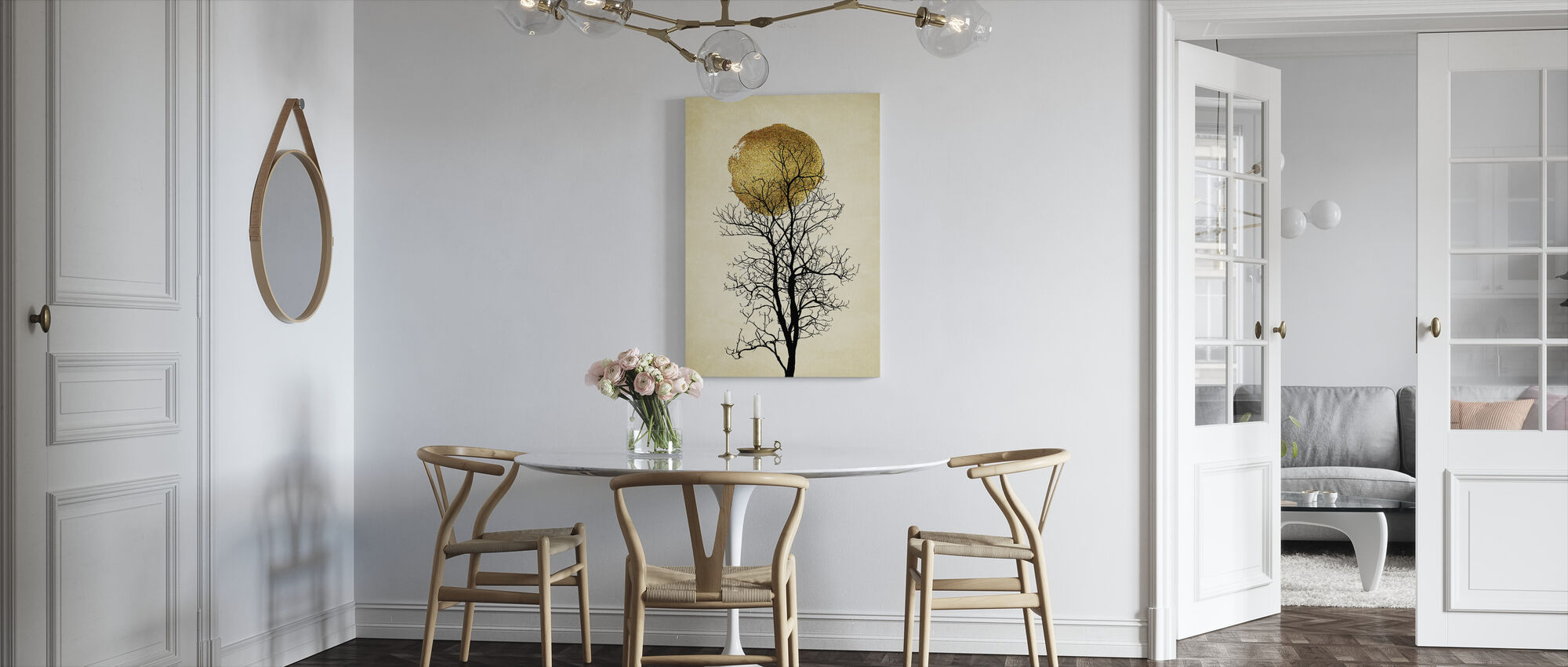 Mondaufgang - Leinwandbild - Küchen