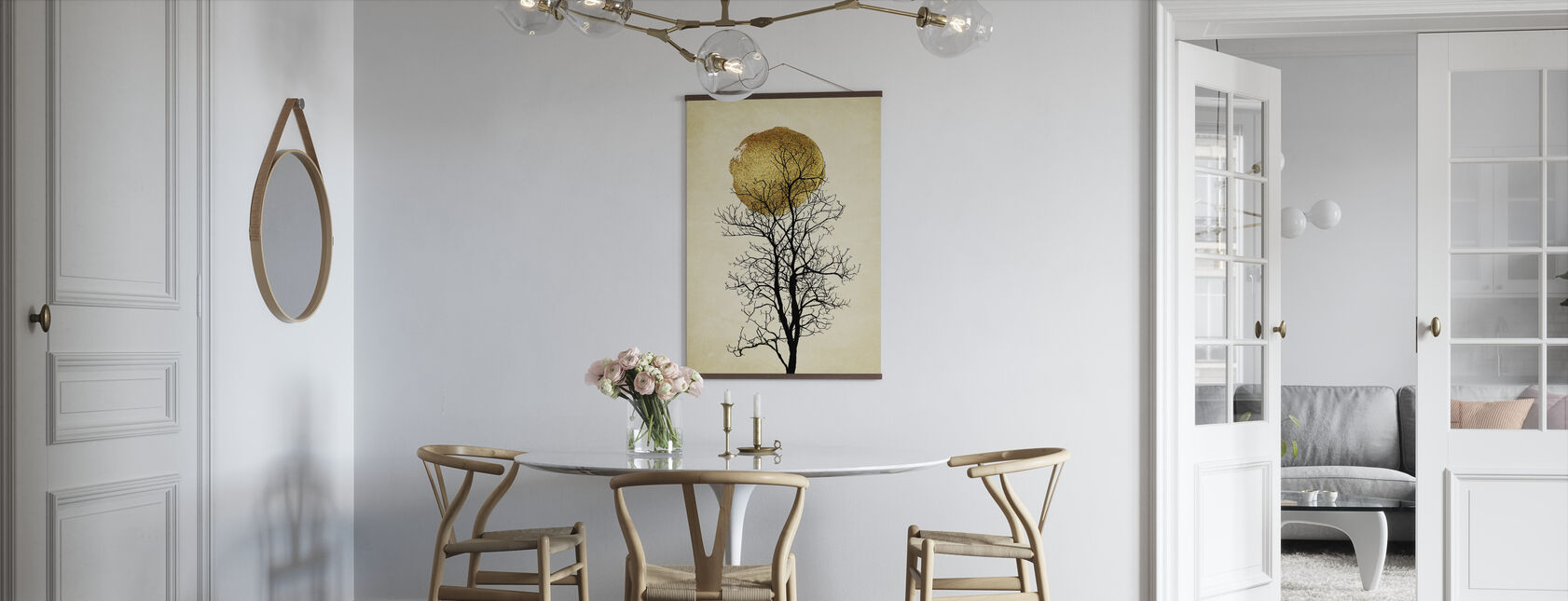 Maansopgang - Poster - Keuken