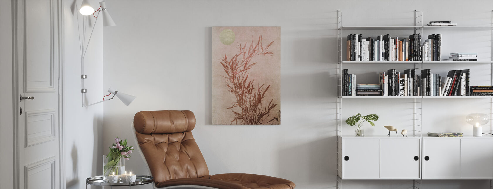 Sentimental Touch - Canvas print - Living Room