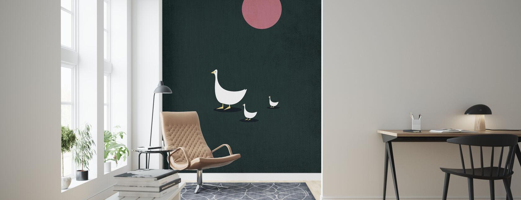Sunny Side of Life - Wallpaper - Living Room