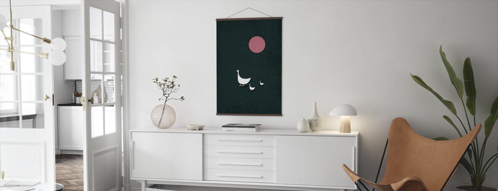 Zonnige kant van het leven - Poster - Woonkamer