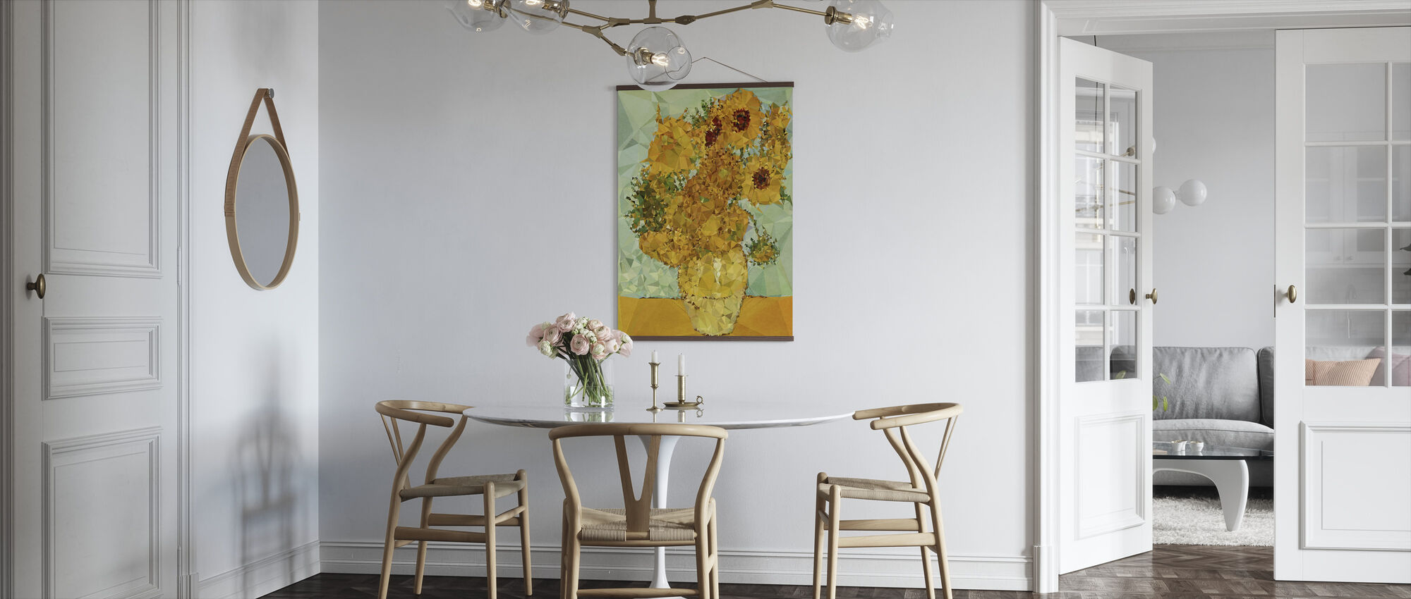 Symphony in Yellow and Blue - Poster - Kitchen