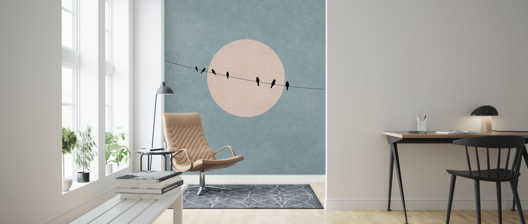 Beauty of Silence - Wallpaper - Living Room