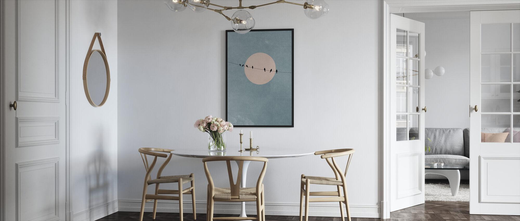 Skønhed af stilhed - Indrammet billede - Køkken