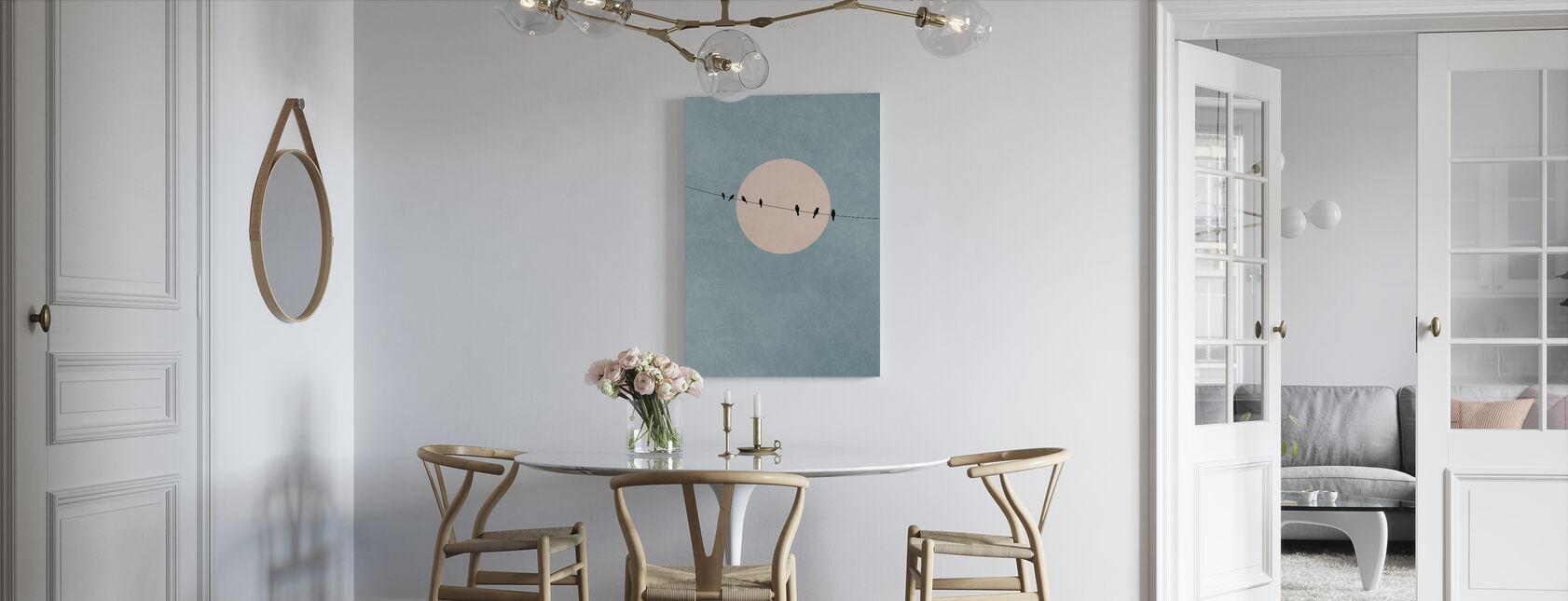 Beauty of Silence - Canvas print - Kitchen