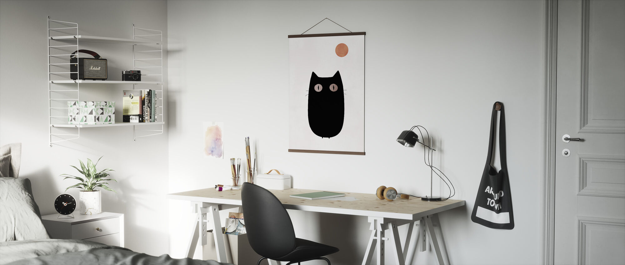 Katt - Poster - Kontor