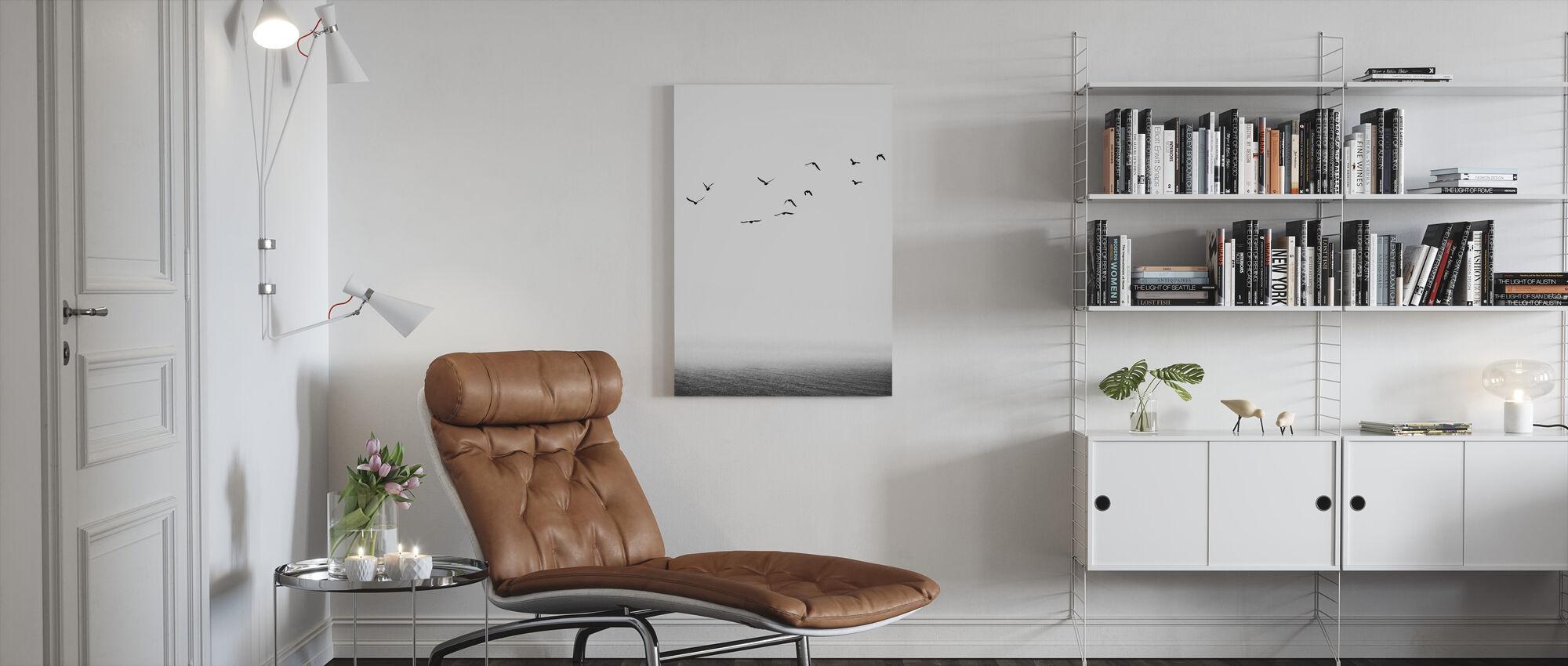 Seaside - Canvas print - Living Room