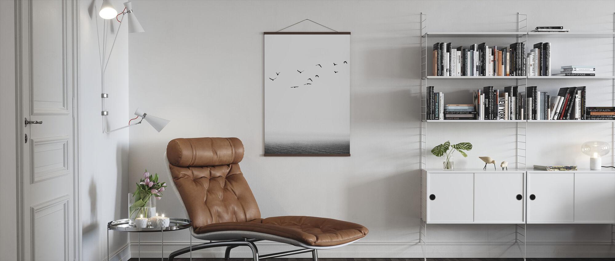 Seaside - Poster - Living Room