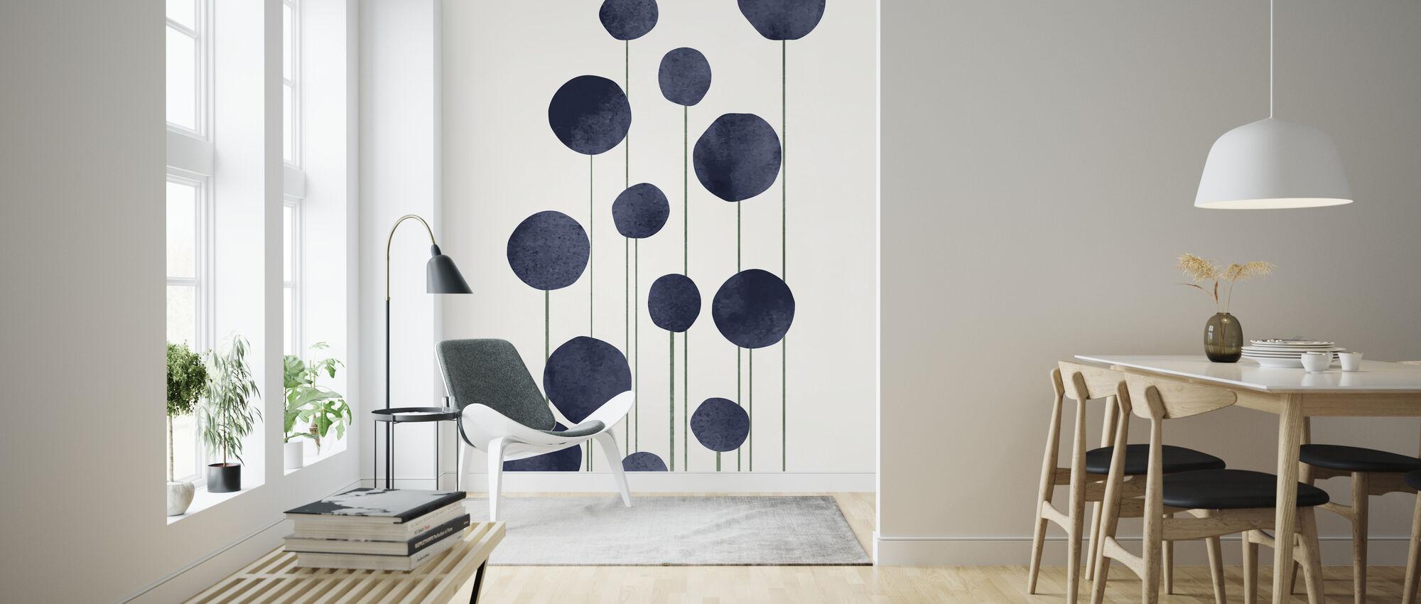 Water Flowers - Wallpaper - Living Room