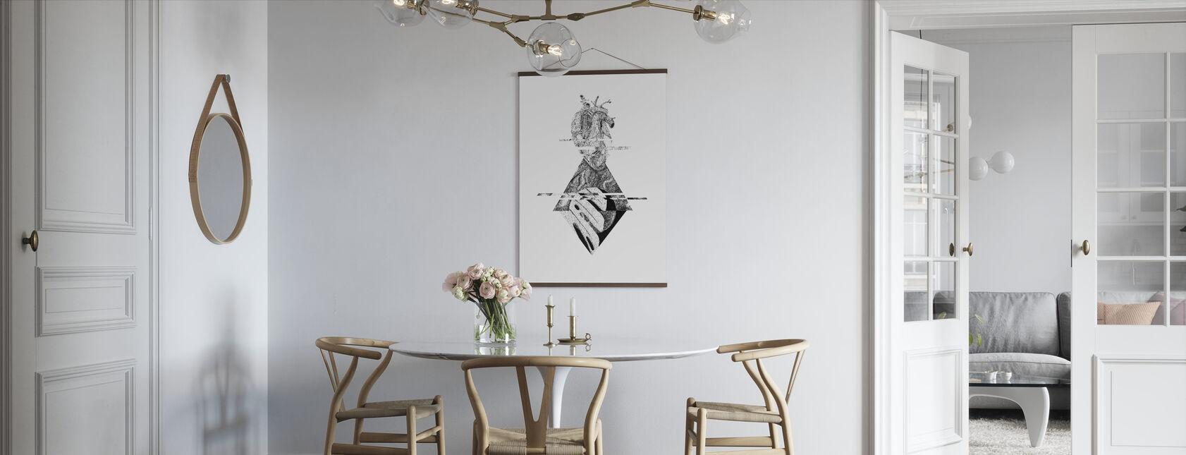 Unterbrochenes Universum III - Poster - Küchen