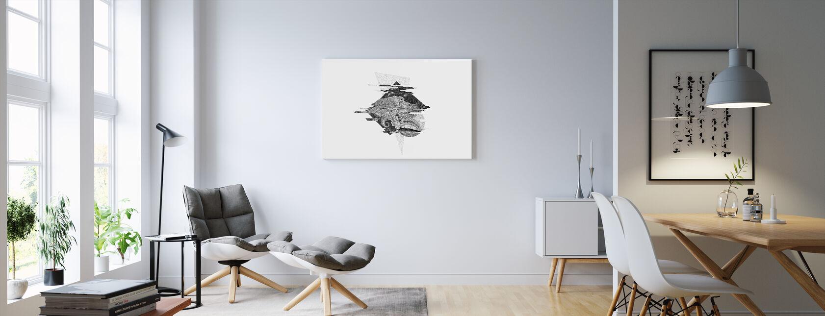 Onderbroken Universum I - Canvas print - Woonkamer