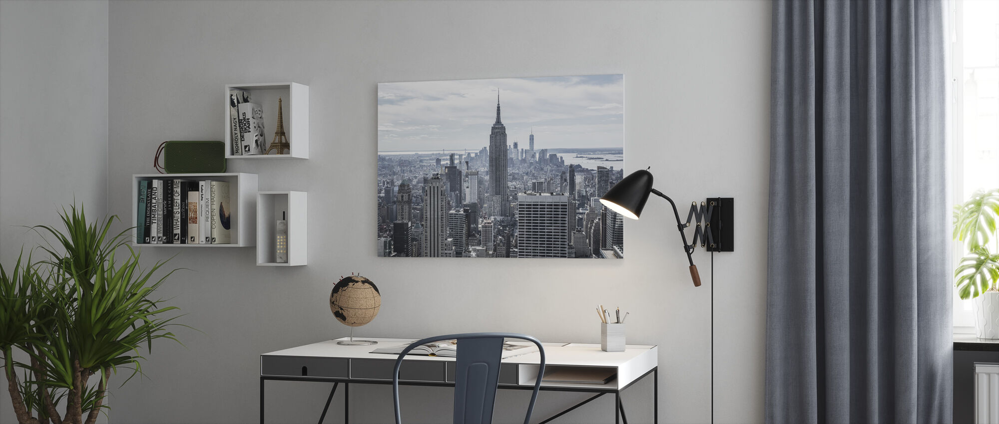 Empire State Building - Canvas print - Office