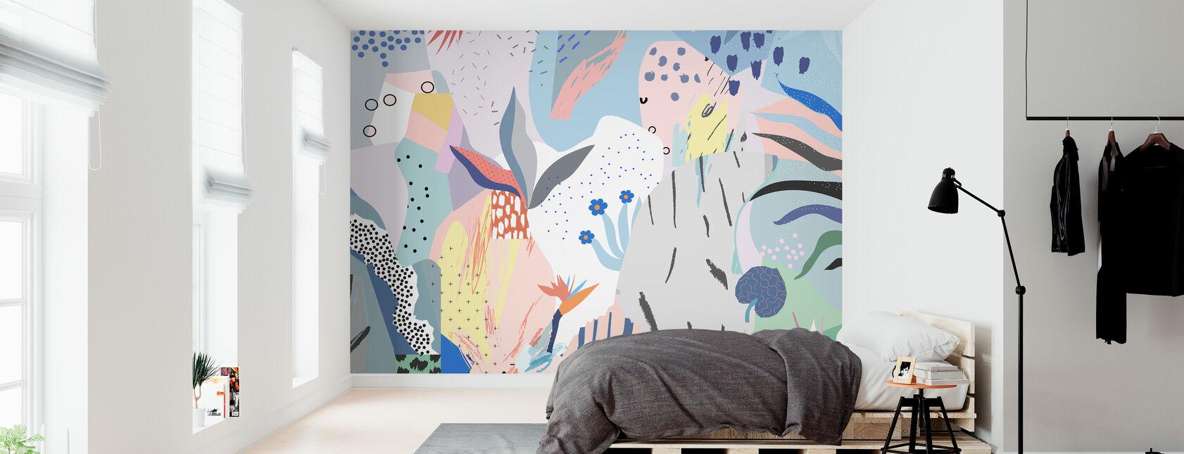 Flowery - Wallpaper - Bedroom