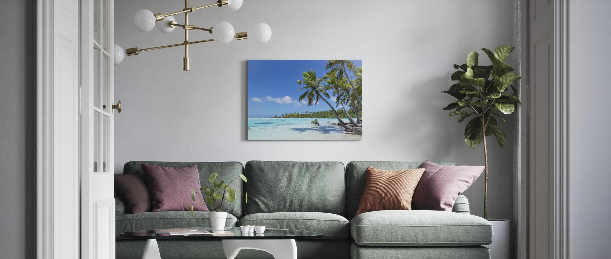 Teahatea Fakarava Frankreich - Leinwandbild - Wohnzimmer