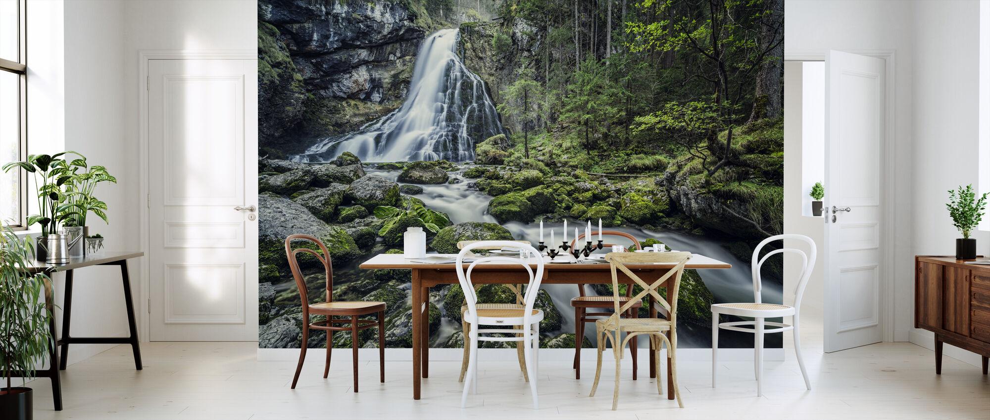 Waterfall Salzburg Austria - Wallpaper - Kitchen