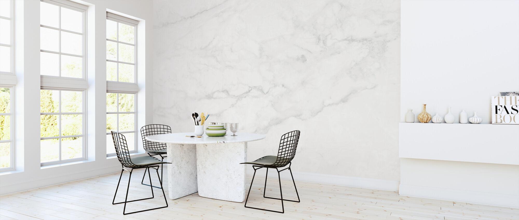 Hvit marmor - Tapet - Kjøkken