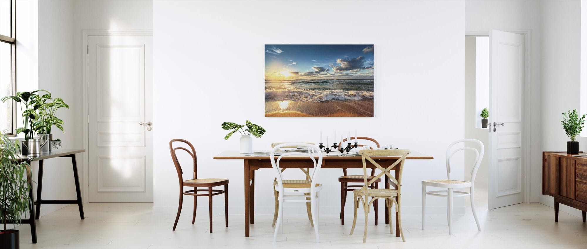 Cloudscape over the Sea - Canvas print - Kitchen