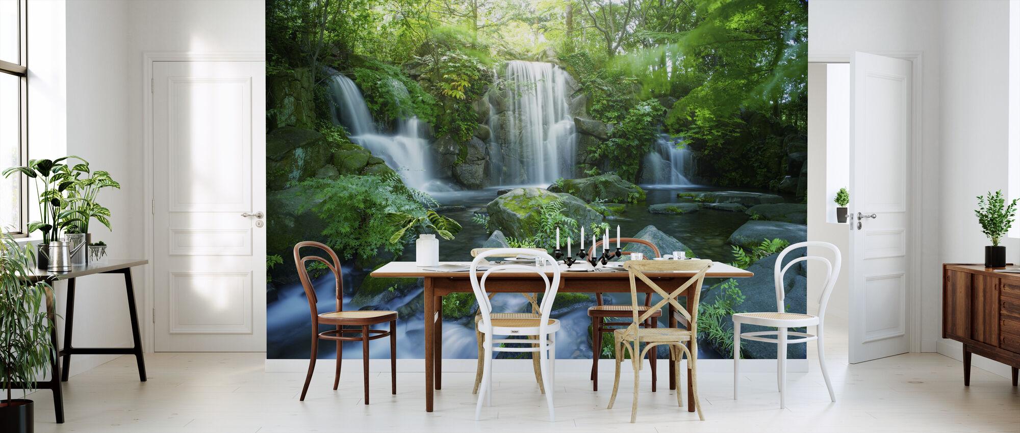 Waterfall in Tokyo - Wallpaper - Kitchen