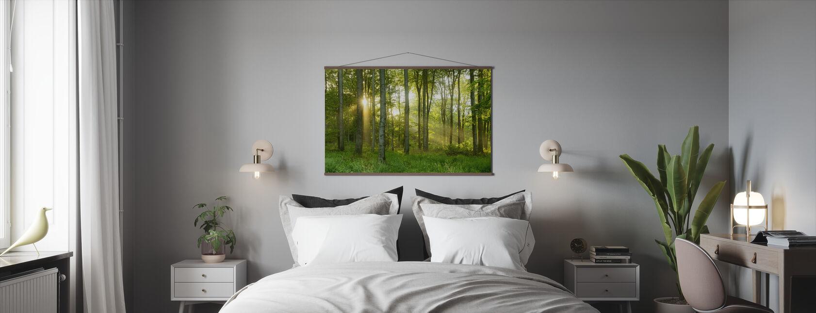 Bøk Tree Skog - Plakat - Soverom