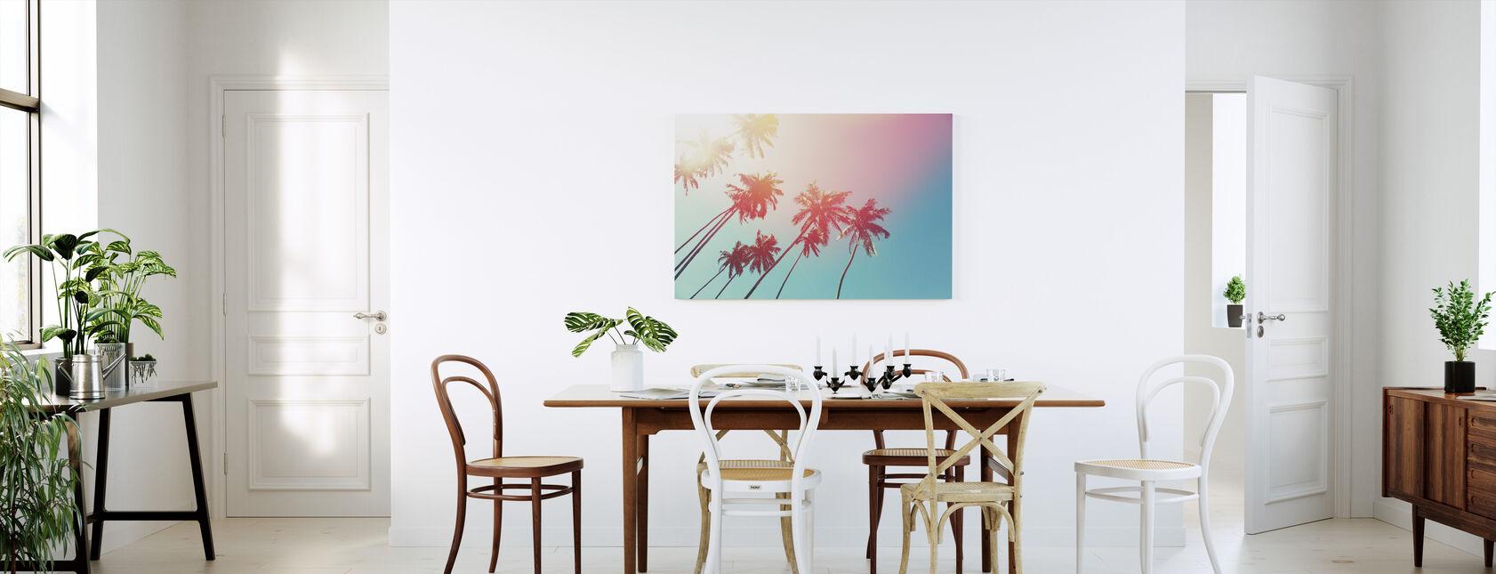 Kookospuut - Canvastaulu - Keittiö