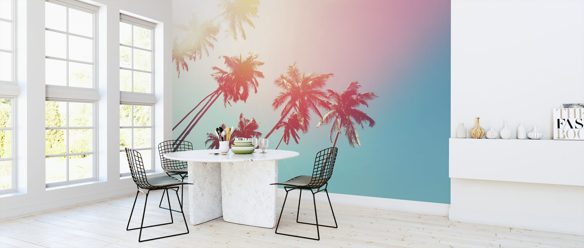 Coconut Trees - Wallpaper - Kitchen