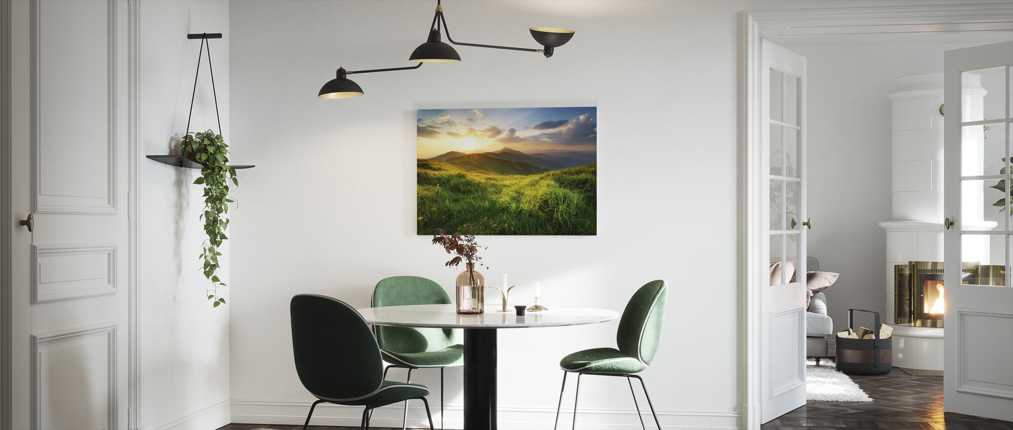 Dramatic Landscape - Canvas print - Kitchen