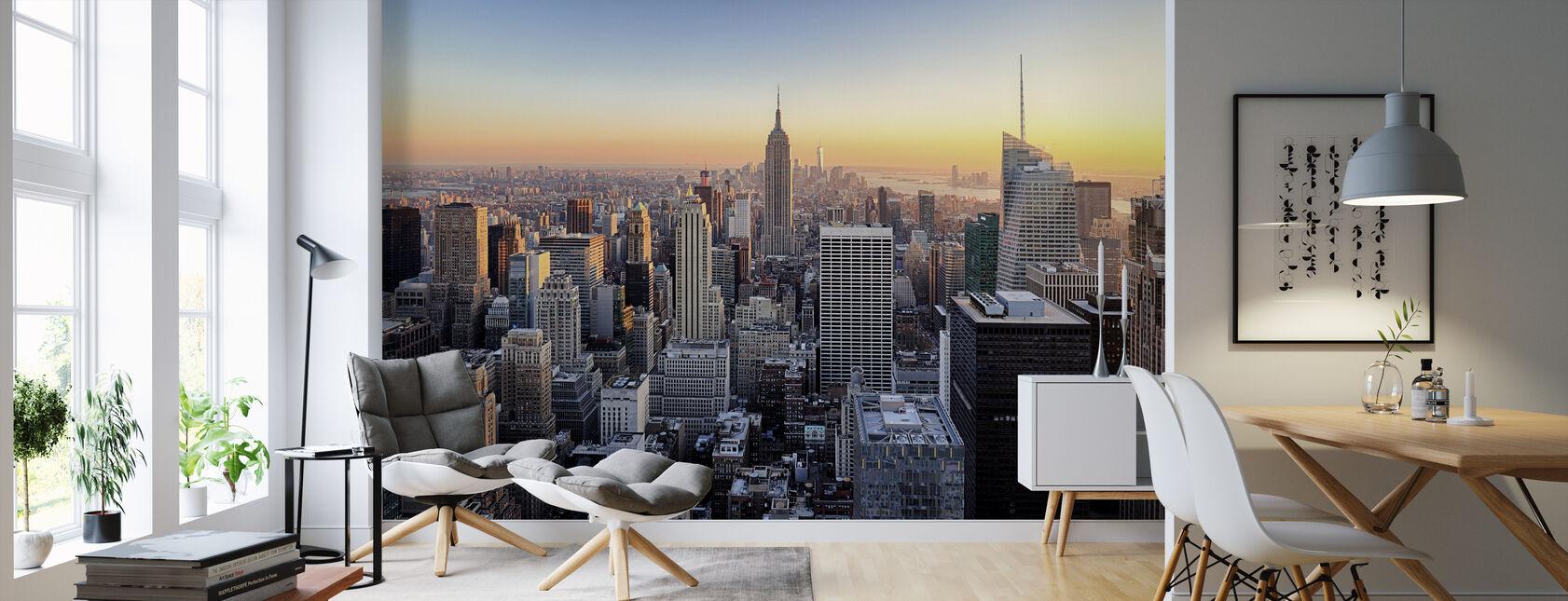 Manhattan Skyline - Tapet - Stue
