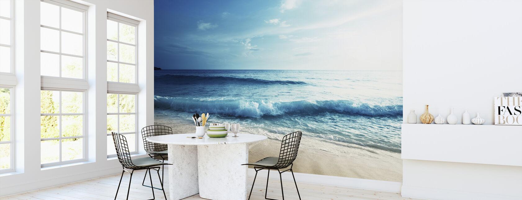 Seychelles-stranden - Tapet - Kjøkken