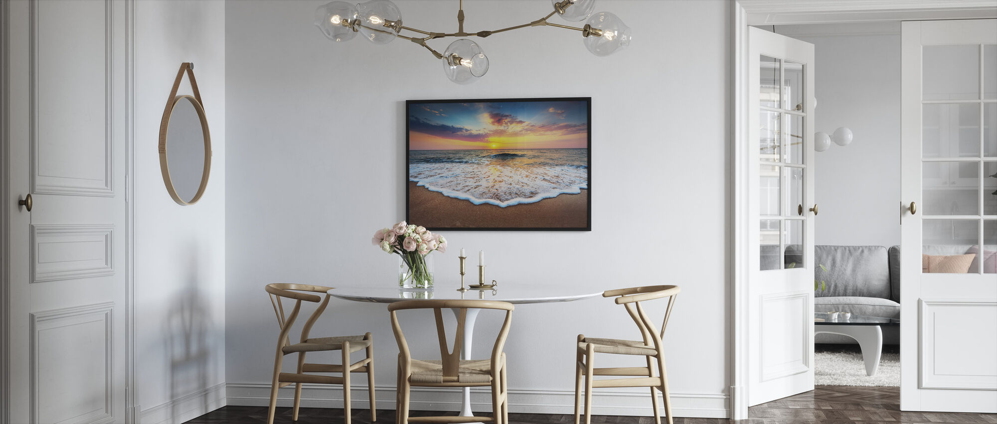 Sunrise and Dreams - Framed print - Kitchen