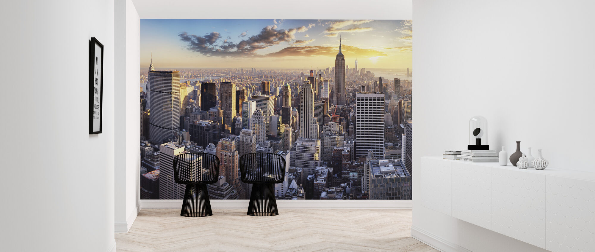 New York Skyline - Wallpaper - Hallway