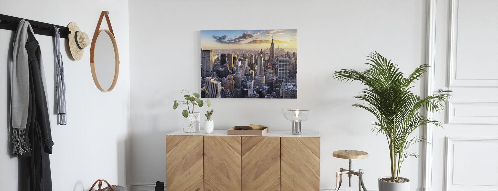 New York Skyline - Leinwandbild - Flur