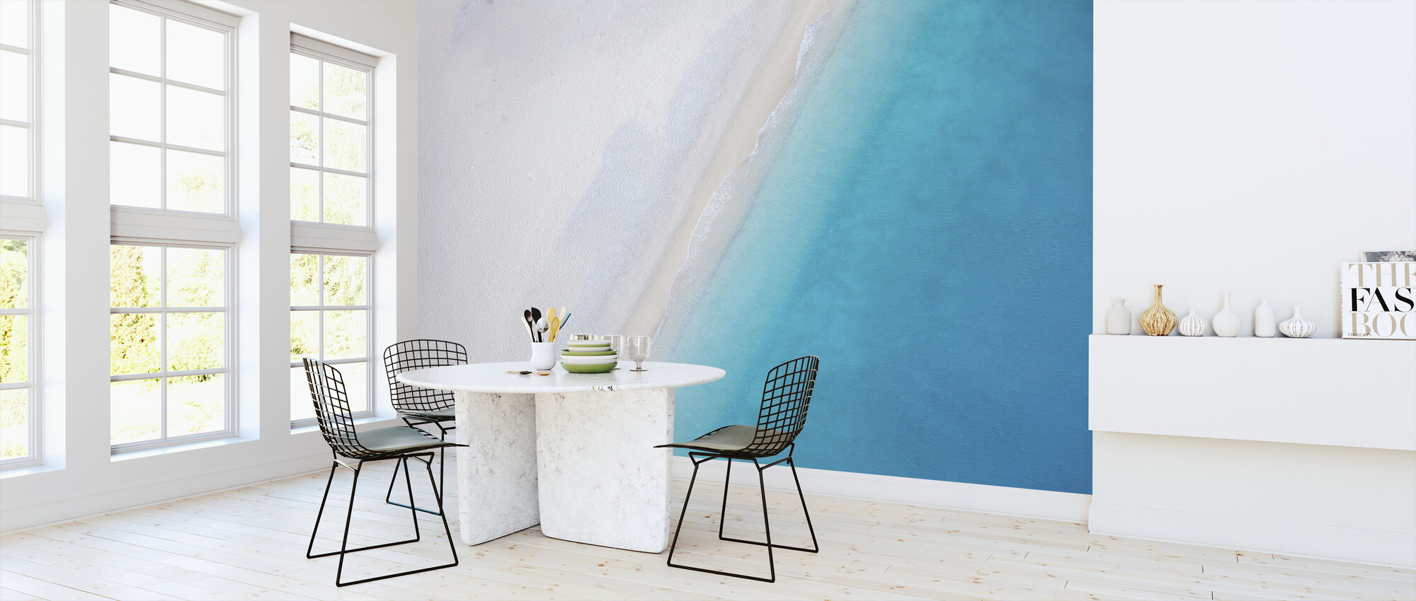 Deserted Sandy Beach - Wallpaper - Kitchen