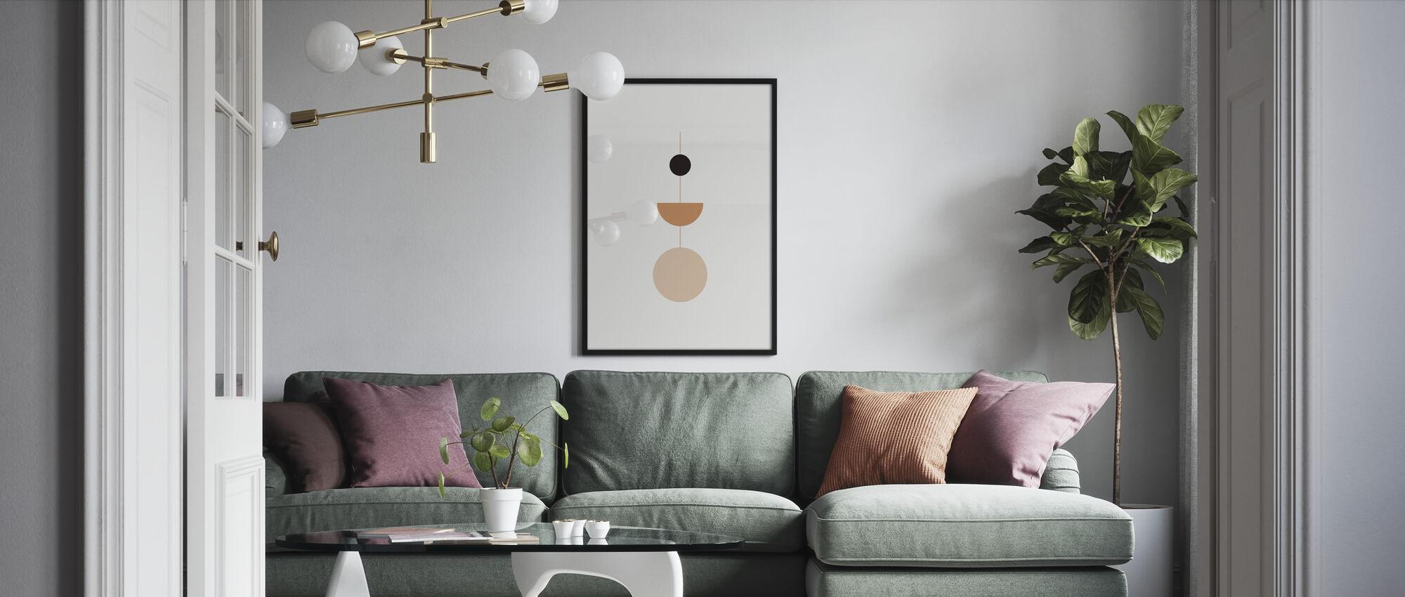 Heliopause - Framed print - Living Room