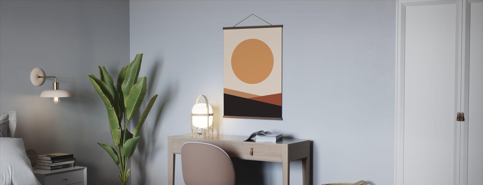 Zon is levendig - Poster - Kantoor