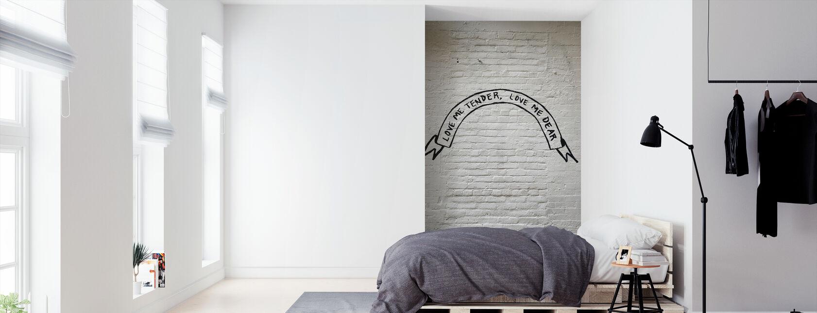 Wandkalligrafie - Behang - Slaapkamer