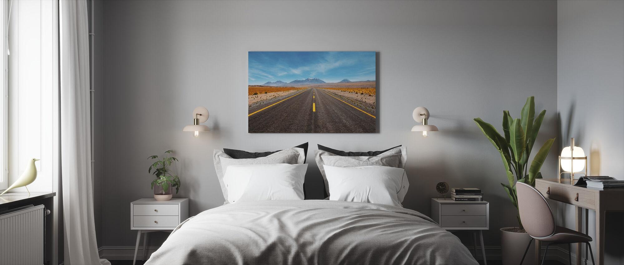 Desert Highway - Lerretsbilde - Soverom
