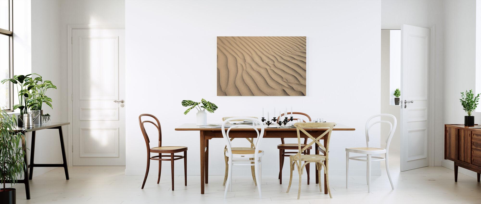 Desert Sand - Canvas print - Kitchen