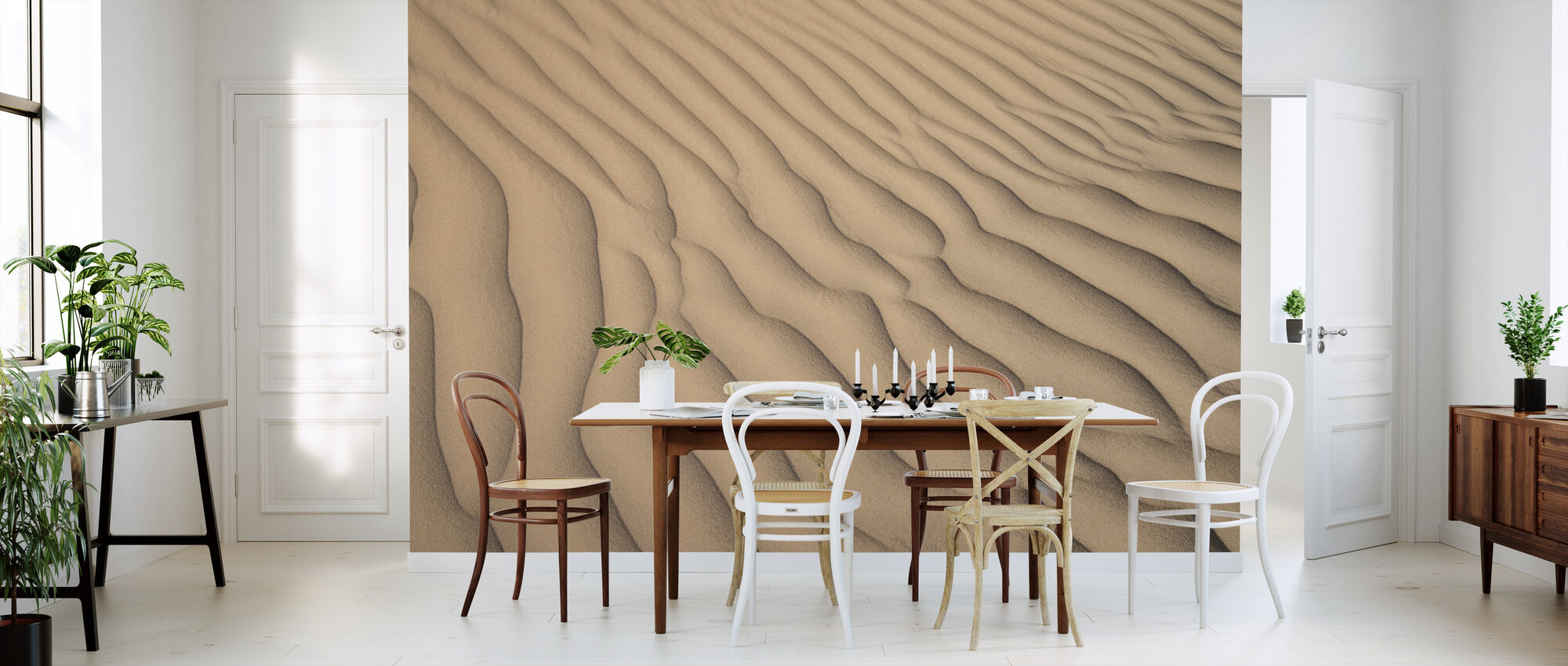 Desert Sand - Wallpaper - Kitchen