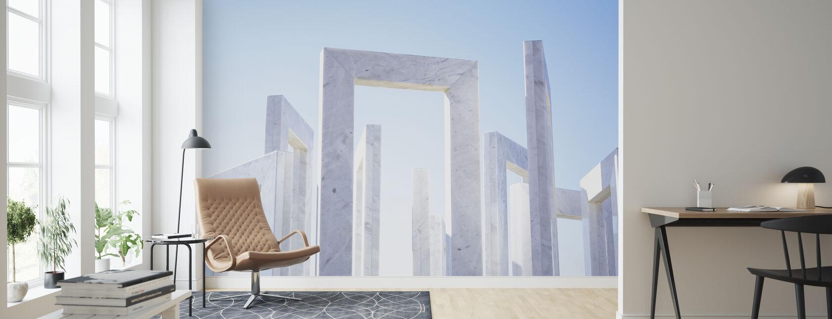 Monuments - Wallpaper - Living Room
