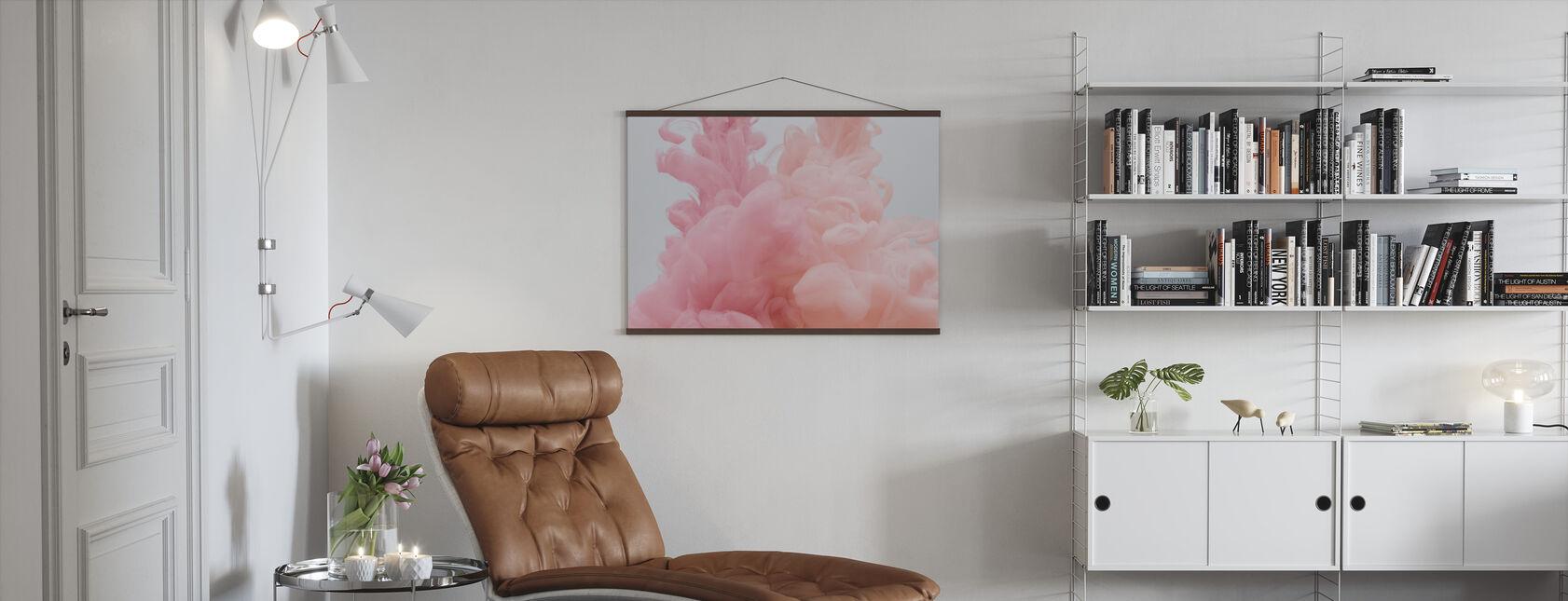 Peony Blossom - Poster - Living Room