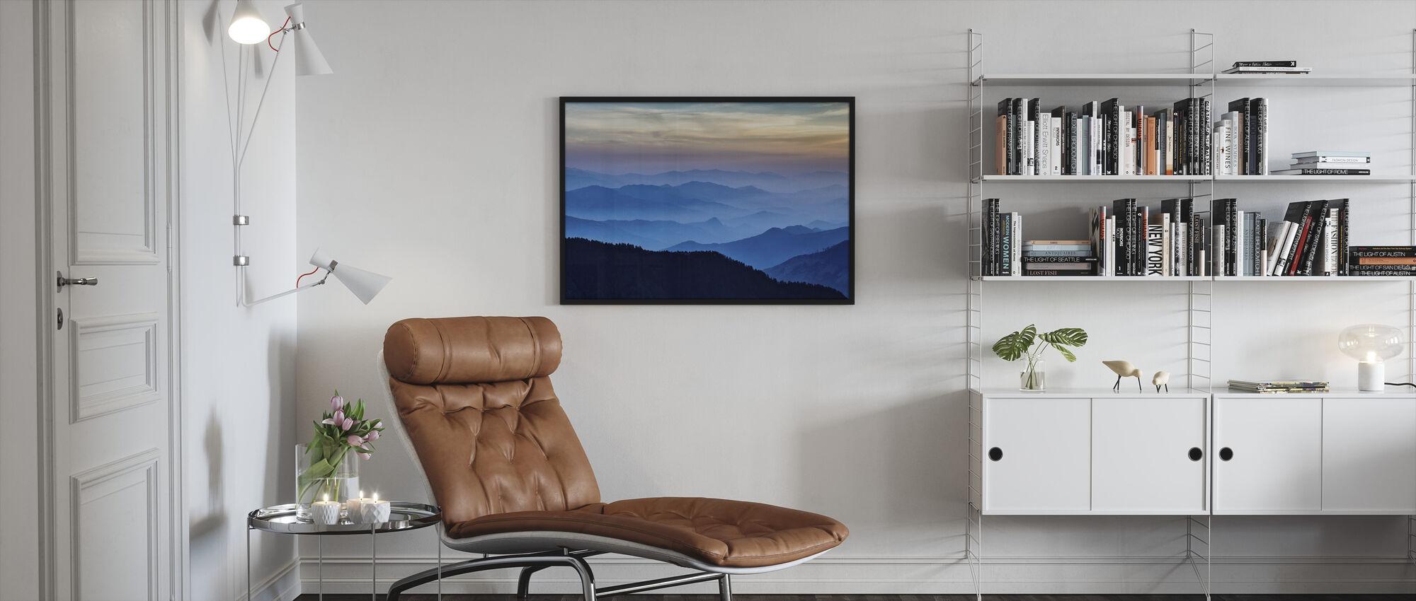 Rhythm of the Mountains - Framed print - Living Room