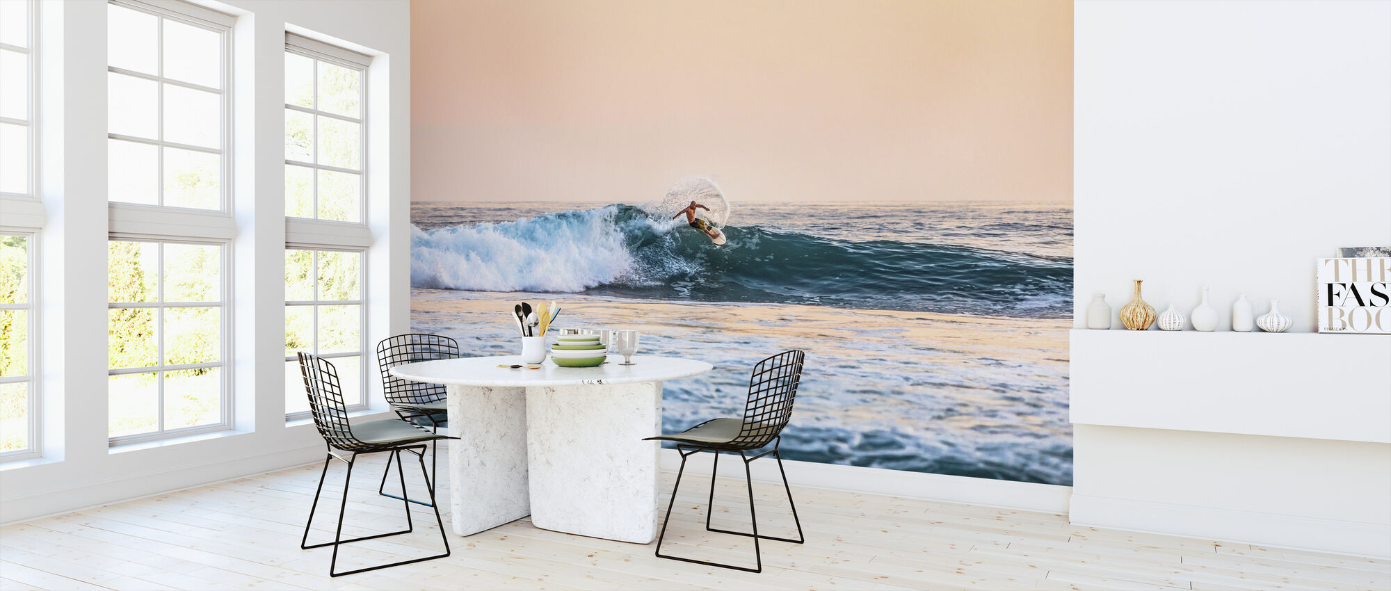 Surfing - Wallpaper - Kitchen