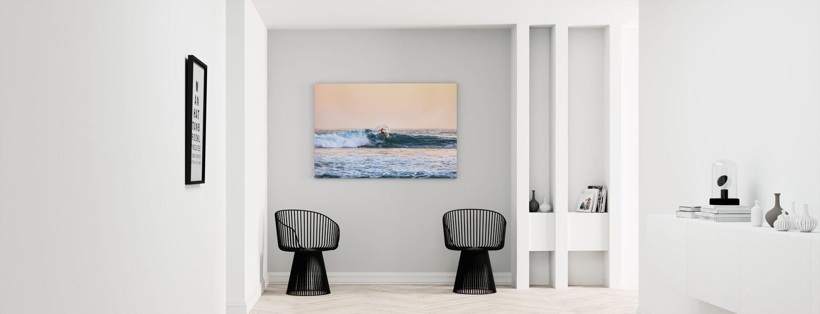 Surfing - Canvas print - Hallway