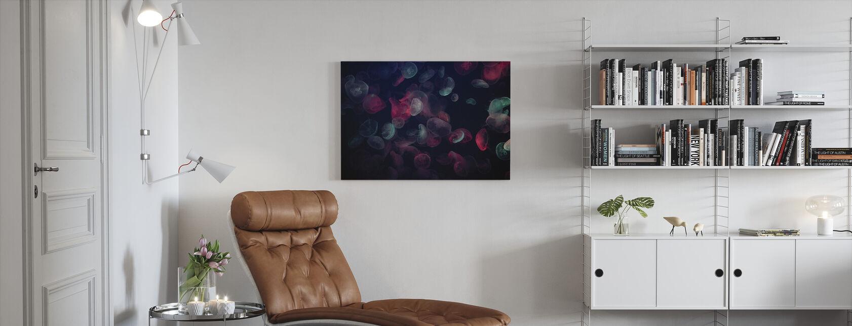 Maneter - Canvastavla - Vardagsrum