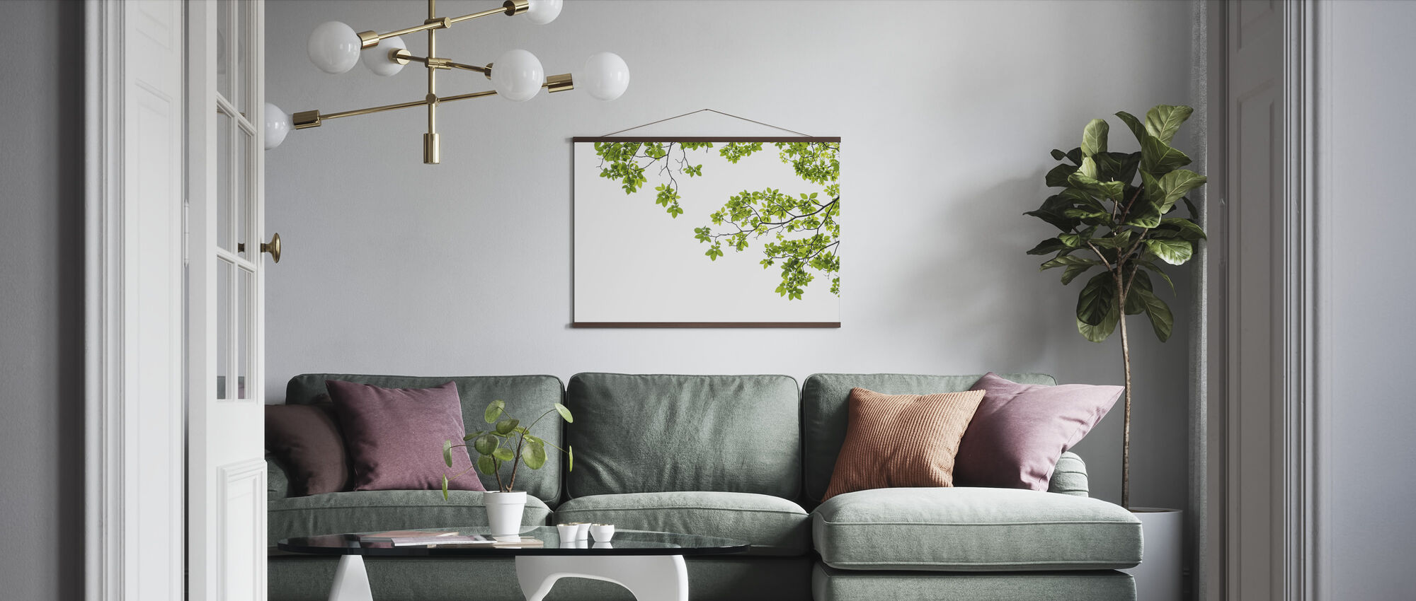 Tree Branch - Poster - Living Room