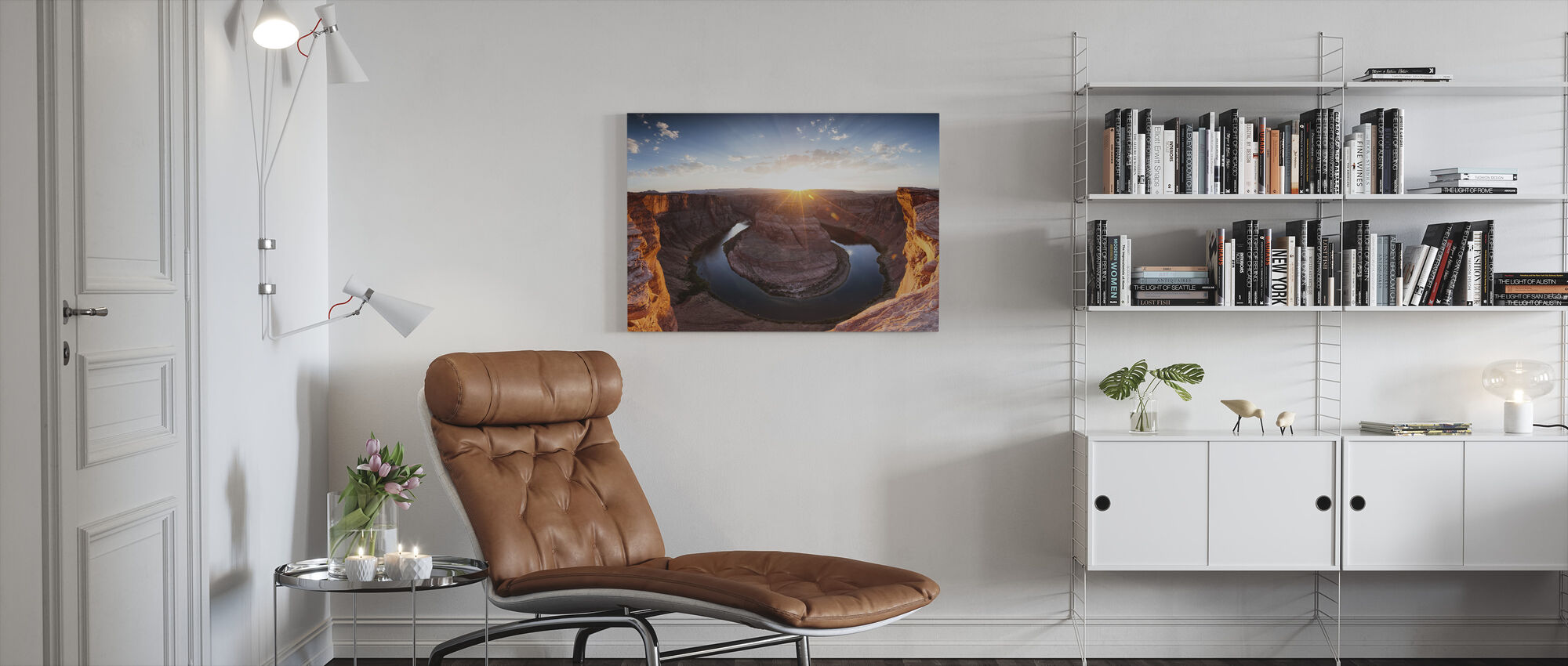 Hoefijzer Bend - Canvas print - Woonkamer