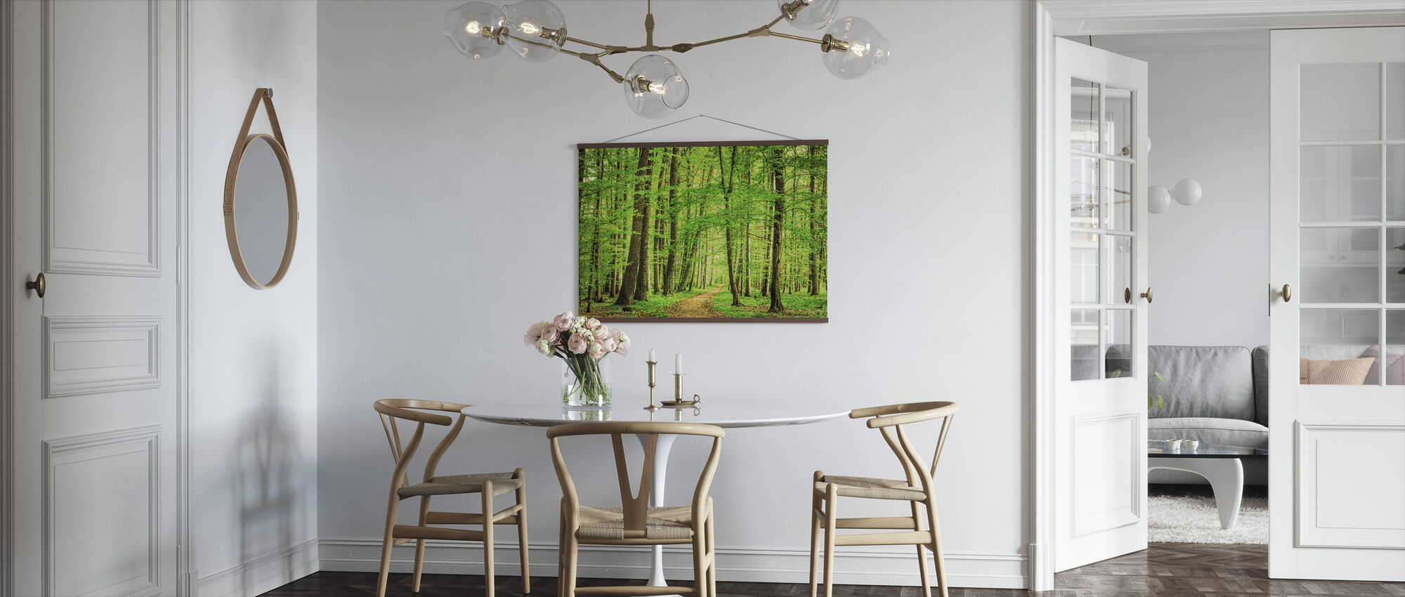 Green Forest in Spring - Poster - Kitchen